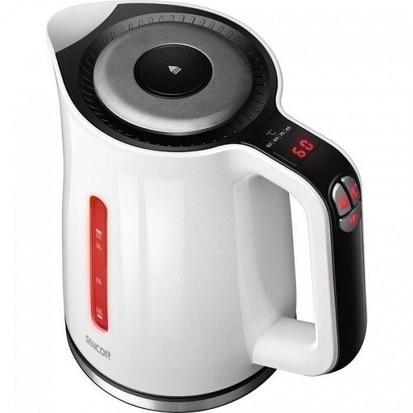 Купить Электрический чайник (нерж сталь) Sencor SWK1791WH