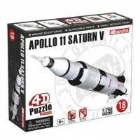 Объемный пазл 4D Master Ракета Аполлон 11 (26373)