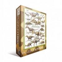 """Пазл Eurographics """"Динозавры Мелового пероида"""" (6000-0098)"""