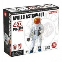 Объемный пазл 4D Master Космонавт ракеты Аполлон (26370)