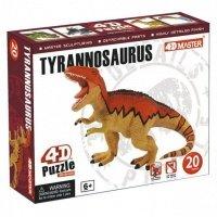 Объемный пазл 4D Master Динозавр Тираннозавр (26392)