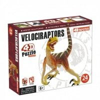 Объемный пазл 4D Master Динозавр Велоцираптор (26435)