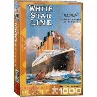 """Пазл Eurographics """"Титаник - Уайт Стар Лайн"""" (6000-1333)"""