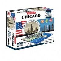 "Объемный пазл 4D Cityscape ""Чикаго, США"" (40014)"