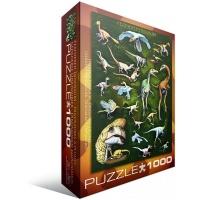 "Пазл Eurographics ""Пернатые динозавры"" (6000-0072)"