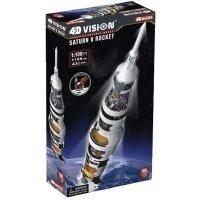 Объемный пазл 4D Master Ракета-носитель Сатурн 5 (26117)