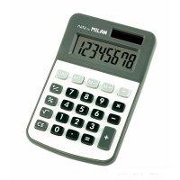 Калькулятор Milan кишеньковий 8 розрядів сірий (ml.150808GBL)