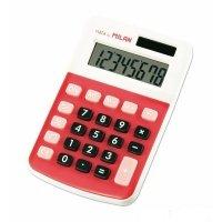 Калькулятор Milan карманный 8 разрядов красный (ml.150808RBL)