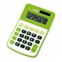 Калькулятор Milan карманный 8 разрядов зеленый (ml.150808GRBL)