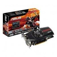 Відеокарта ASUS Radeon HD 7770 1GB DirectCU (HD7770-DC-1GD5-V2)