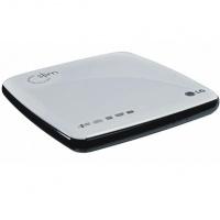 Зовнішній оптичний привід LG SuperMulti EXT RTL USB GP08_NU10 slim White/Black