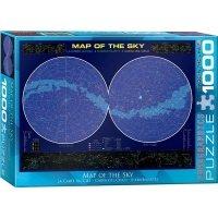 "Пазл Eurographics ""Карта звездного неба"" (6000-1010)"