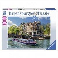 """Пазл Ravensburger """"Экскурсия по каналу. Амстердам"""" (RSV-191383)"""