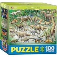 "Пазл Eurographics ""Динозавры №2"" (8104-0098)"
