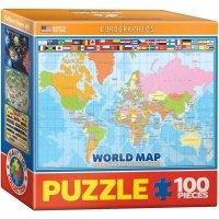 """Пазл Eurographics """"Карта Мира для детей №2"""" (8104-1271)"""
