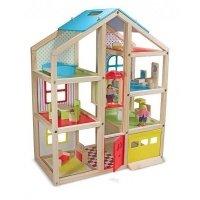 Кукольный домик с подъемником и мебелью Melissa&Doug (MD2462)