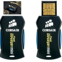 Накопитель USB 2.0 CORSAIR 4GB Voyager Mini (CMFUSBMINI-4GB)