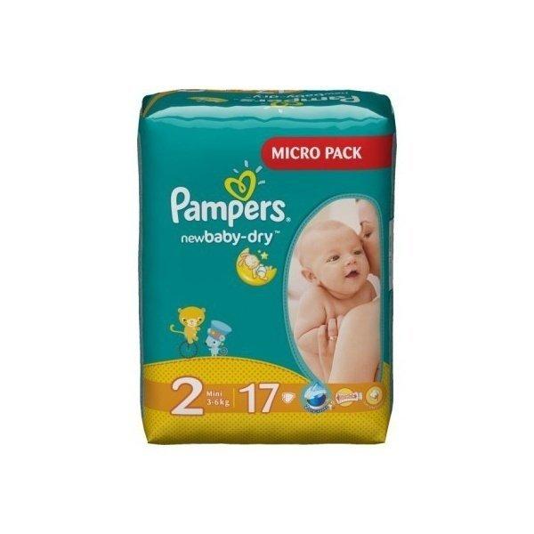 ≡ Подгузники PAMPERS New Baby-Dry Mini (3-6 кг) 17 шт ... dd455c272b3
