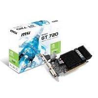 Відеокарта MSI GeForce GT 720 1GB DDR3 Low Profile Silent (N720-1GD3HLP)