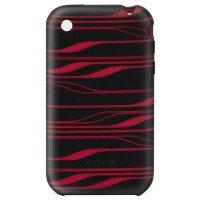 Чехол к iPhone 3G Belkin Sleeve (силикон) Black+InfraRed для iPhone 3G(S)
