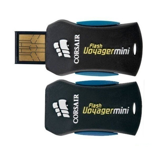 Накопичувач USB 2.0 CORSAIR 8GB Voyager Mini (CMFUSBMINI-8GB) фото