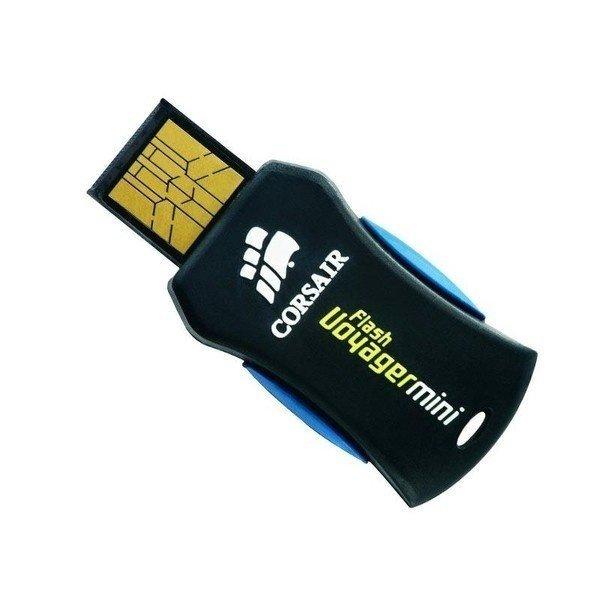 Накопичувач USB 2.0 CORSAIR Voyager Mini 16GB (CMFUSBMINI-16GB) фото