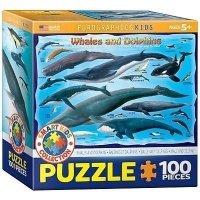 """Пазл Eurographics """"Киты и дельфины"""" (8100-0082)"""