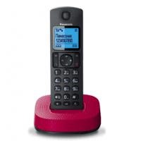 Телефон Dect Panasonic KX-TGC310UCR Black Red