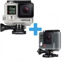 Экшн-камера GoPro Hero4 Black + Hero ROW комплект (CHDHX-401+CHDHA-301)