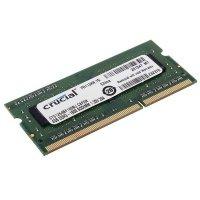 Пам'ять для ноутбука Micron Crucial DDR3 1600 4Gb 1.5/1.35V (CT51264BF160BJ)