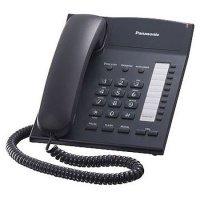 Телефон шнуровой Panasonic KX-TS2382UAB Black