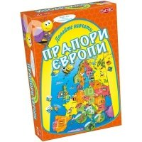 """Настольная игра Tactic """"Давайте изучать флаги Европы"""" (T40306)"""