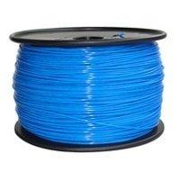 Нить PLA голубой 1 кг 3 мм (PLA28)