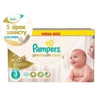 Подгузники PAMPERS Premium Care Midi Мега-серия 120 шт. (4015400465461)