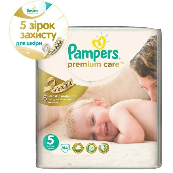 4ddc2d73822b Подгузники PAMPERS Premium Care Junior (11-25 кг) 44 шт. (4015400278870