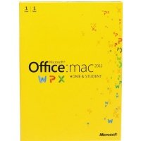 Microsoft Office Mac Home Student 2011 Russian (электронная лицензия) (GZA-00228)