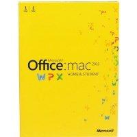 Microsoft Office Mac Home Student 2011 Russian (электронная лицензия) (GZA-00228)