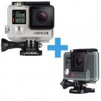 Экшн-камера GoPro Hero4 Silver + HERO ROW + монопод (CHDHY-401+CHDHA-301)