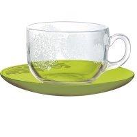 Чайный сервиз Luminarc Piume Green 12пр. (J7662)