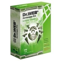Антивирус Dr.Web Антивирус Pro 2 ПК, 12 мес (BBW-W12-0002-61)