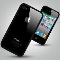 Чехол ACC для iPhone 4 Black Бампер