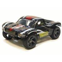 Автомобиль Himoto 1:18 на р/у Tyronno Brushed черный (E18SCb)