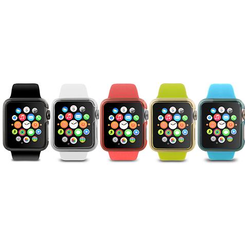 Разноцветные ремешки для Эпл Вотч фото