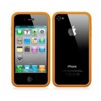 Чехол ACC для iPhone 4 Бампер Orange