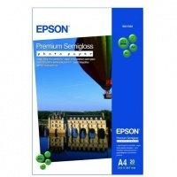 Фотобумага EPSON Premium Semigloss Photo Paper, 20л. (C13S041332)