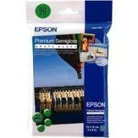 Фотобумага EPSON Premium Semiglossy Photo Paper, 50л. (C13S041765)