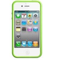 Чехол ACC для iPhone 4 Бампер Green