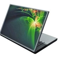 Наклейка на ноутбук Easy Link H6043 зелений узор