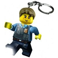 Брелок-фонарик LEGO City Погоня МакКейна (LGL-KE41-BELL)