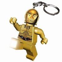 Брелок-фонарик LEGO Star Wars С3РО (LGL-KE18-BELL)